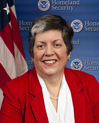 Homeland Security Chief Janet Napolitano