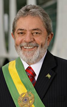 Brazilian President Luiz Inácio Lula da Silva