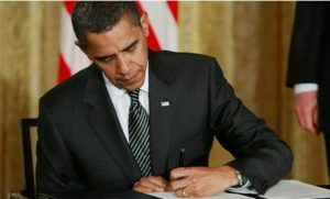 Pres. Obama signs proclamation