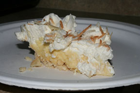 Cream pie from Original Market Diner