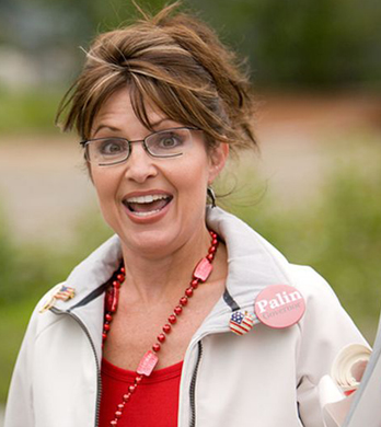 Could you hit the target? An image of former vice presidential candidate Sarah Palin will be on the targets in the Tea Bag Toss at the Log Cabin Republicans of Los Angeles' Pride booth this weekend.