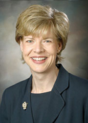 Lesbian Rep. Tammy Baldwin
