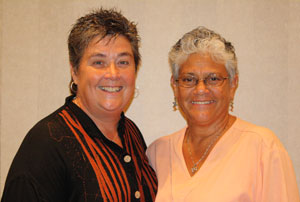 MCC of Greater Dallas Pastor Colleen Darraugh and her partner Shelley Torres-West