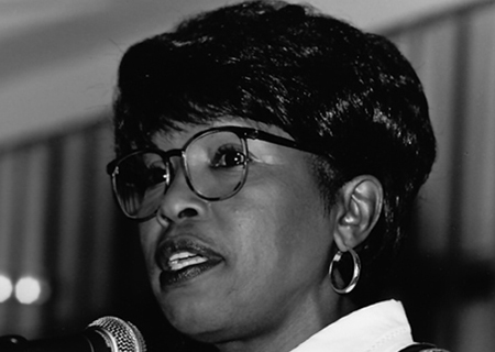 Former state representative Terri Hodge