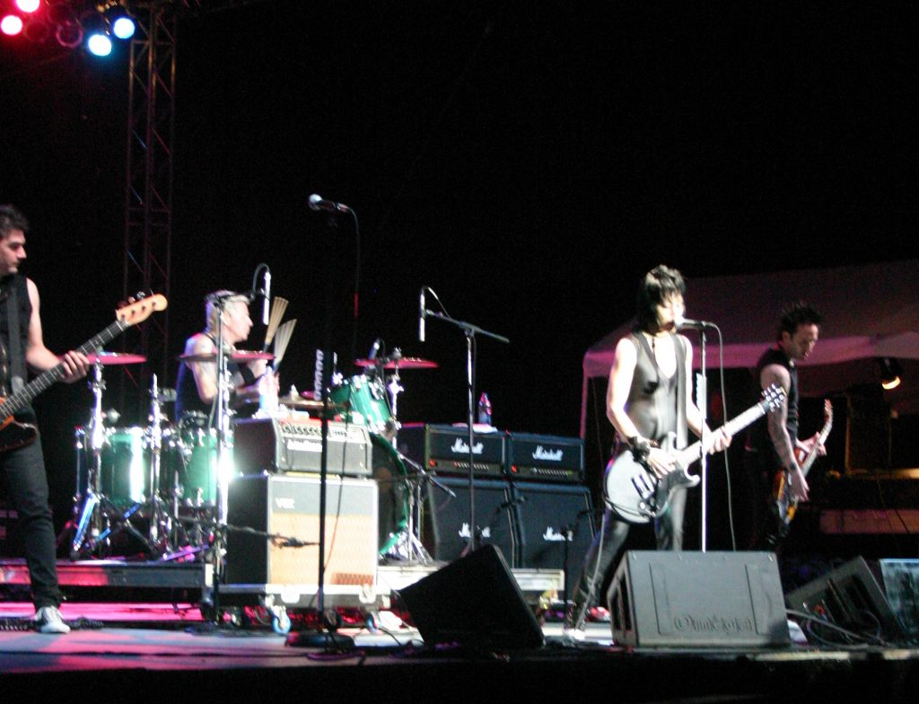 Joan Jett, QueFest, Rowlett, Texas