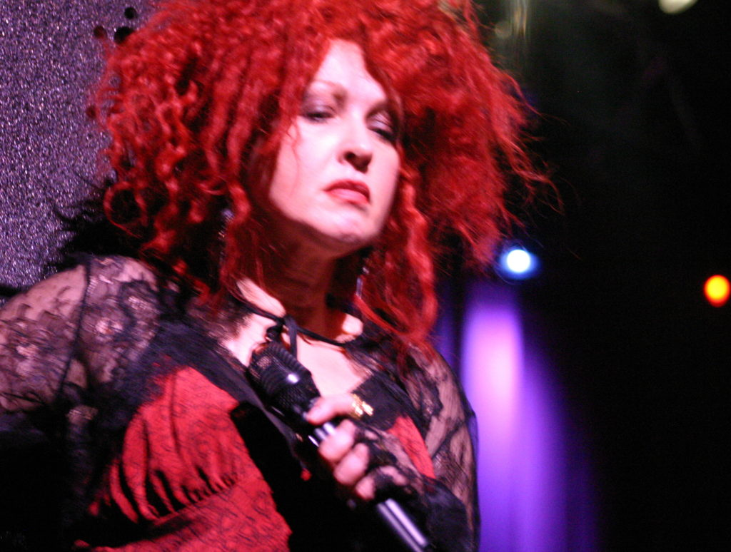 Cyndi Lauper, House of Blues, Dallas, Memphis Blues