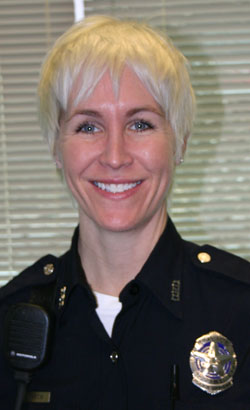LGBT Liaison Officer Laura Martin