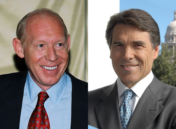 Bill White, Rick Perry