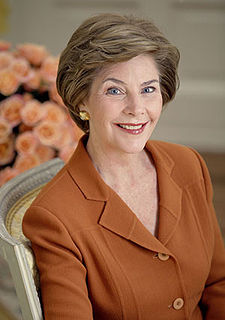 UPDATE: Group responds to Laura Bush's request to be removed from ad