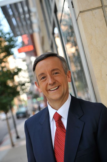 Pastor Robert Jeffress of First Baptist Church of Dallas