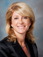 Wendy Davis applauds passage of HERO