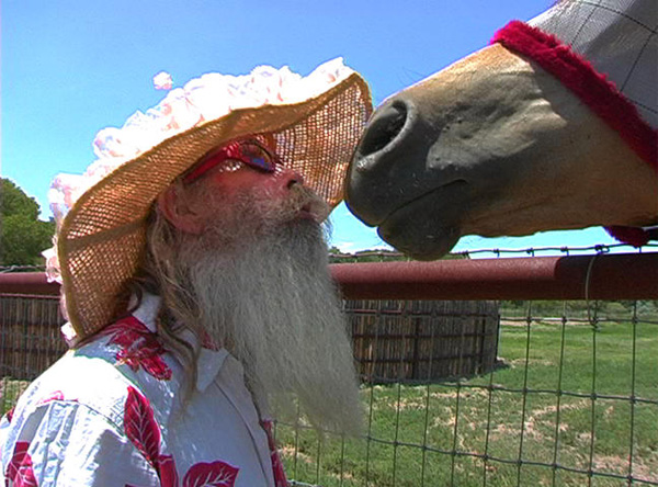 HORSE WHISPERER | Audrey Dean Leighton gives air kisses to this horse adding ...