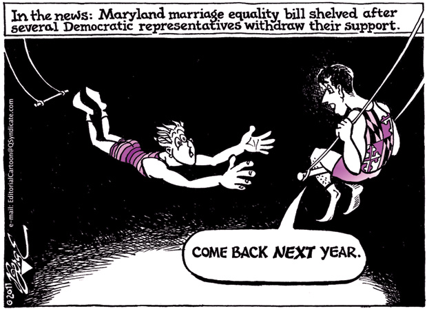 Editorial Cartoon • 03.18.11