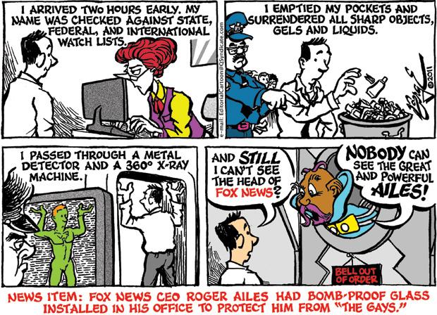 Editorial Cartoon • 06.10.11