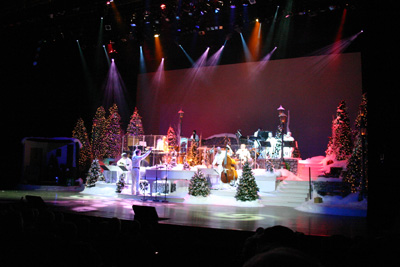 SEASON'S GREETINGS | Singer Andy Williams, who revealed a serious illness just last week, is still responsible for the Andy Williams Christmas Spectacular, which shows that Branson is serious about the holiday, already underway. (Rich Lopez/Dallas Voice).