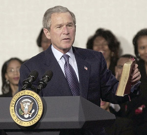 ­THEN AND NOW  |  When George W. Bush took over the White House in January 2001, the federal government had a budget surplus of more than $237 billion. In 2011, the deficit stands at $1.3 trillion.