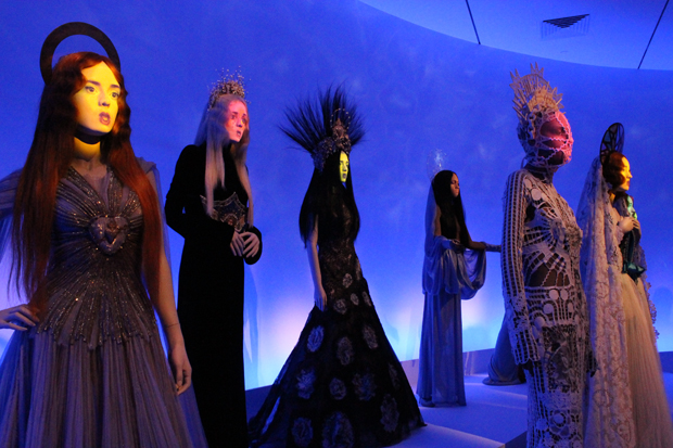 FASHIONS AND FORWARD  |  The Jean Paul Gaultier exhibit at the DMA, above, was a highlight of the arts scene in 2011, while Dirk Nowitzki's performance in the NBA playoffs gave the Mavs their first-ever — and much deserved — world title. (Arnold Wayne Jones/Dallas Voice)