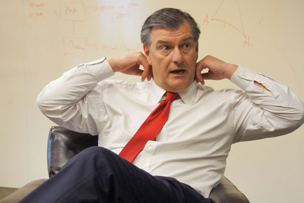 Daniel Cates says Dallas Mayor Mike Rawlings