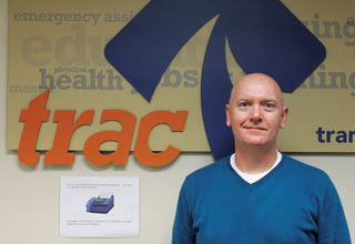 GETTING THEM BACK ON TRAC | Jerry Sullivan, assistant director for the Transition Resource Action Center, which provides transitional housing, said at one point in the last year two-thirds of the youth TRAC was serving were LGBT. (John Wright/Dallas Voice)