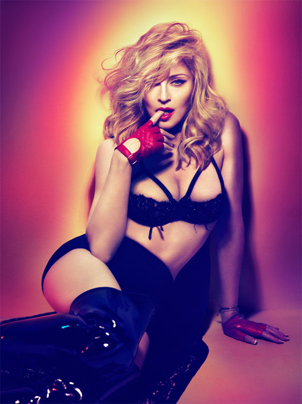 COUGAR TOWN | With 'MDNA,' the Material Girl explores her new single life — but the safety net of classic Madonna is never far away.