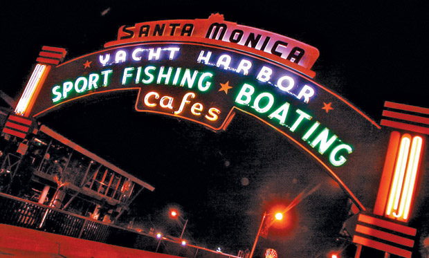 COASTAL SUCCESS | The Santa Monica Pier may be a tourist trap, but it's a fabulous one — as is the entire beach area of Los Angeles' surf-bound alternative to the concrete jungle of West Hollywood, with great shops, dining ... and even a gay bar. (Photos courtesy Santa Monica CVB)