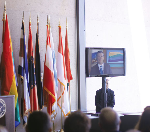 City kicks off LGBT Pride Month with reception at City Hall, including video ...