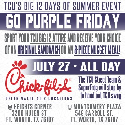 TCU day with Chick-fil-A sparks upset