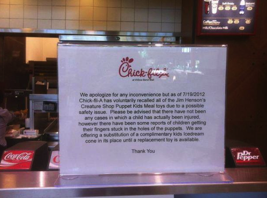 Plano Chick-fil-A claims safety issues with Muppets toys; former Dallasite organizes same-sex kiss-in