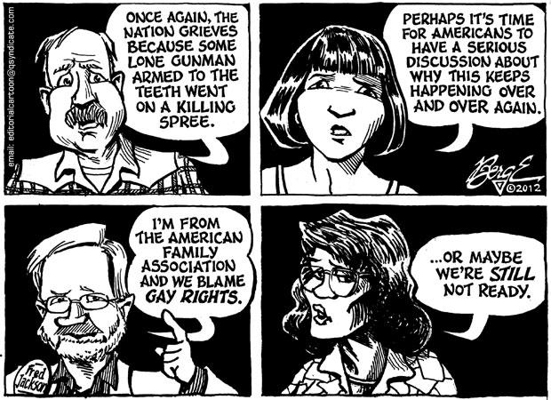 Editorial Cartoon • 07.27.12