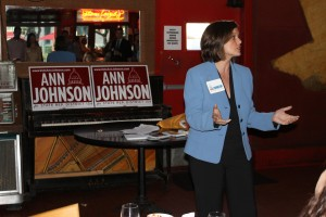 Dallas fundraiser for out lesbian House hopeful Ann Johnson raises almost $3K