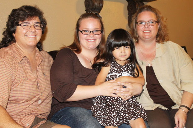 13 is lesbian foster moms' lucky number