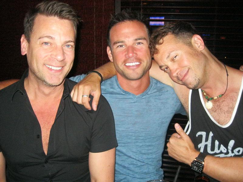 Joe,Jack and Josh at Alexandre's.