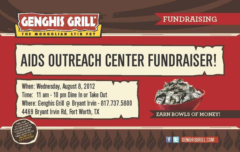 Visit Genghis Grill today to help AOC