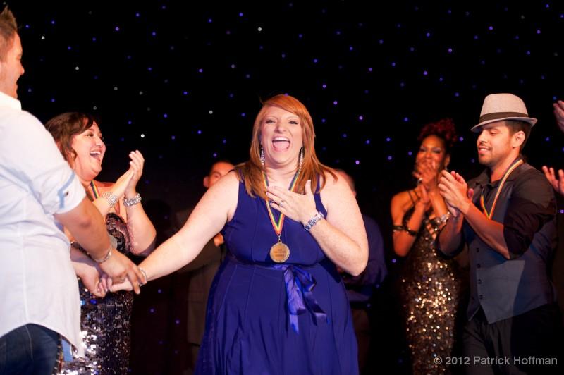 Angie Landers wins Voice of Pride