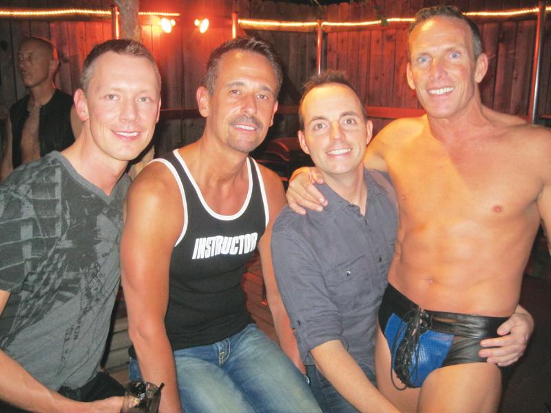 Doug, Tim, Wesley and Richard at Dallas Eagle.