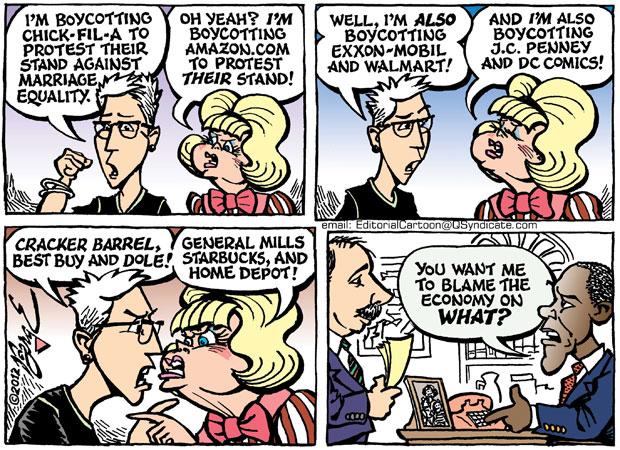 Editorial Cartoon • 08.03.12