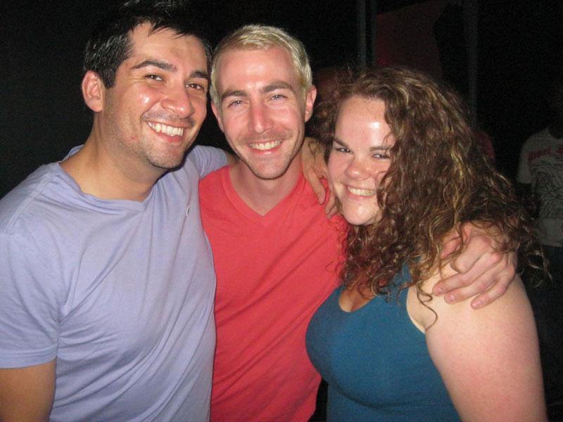 Mario, W. and holly at BJ's NXS!