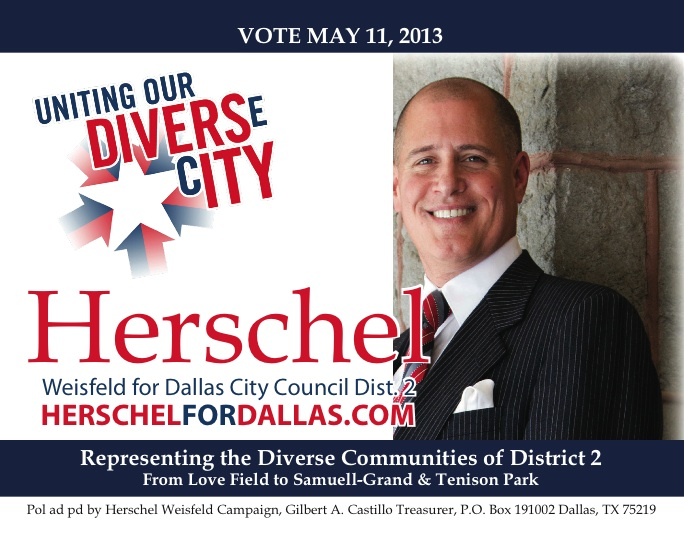 Gay Dallas real estate developer announces candidacy for City Council