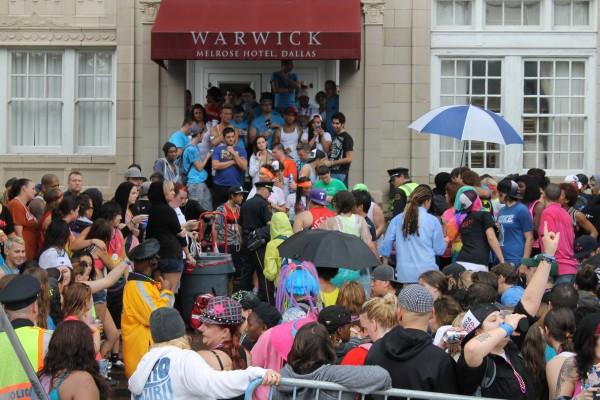 Pride Recap: Rain hurts turnout; police make 2 arrests; Melrose may close lawn