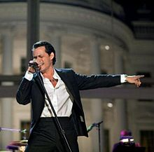 Marc Anthony, Chayanne, Marco Antonio Solis perform at the American Airlines Center