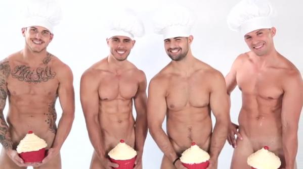 VIDEO: Cupcake, meet beefcake