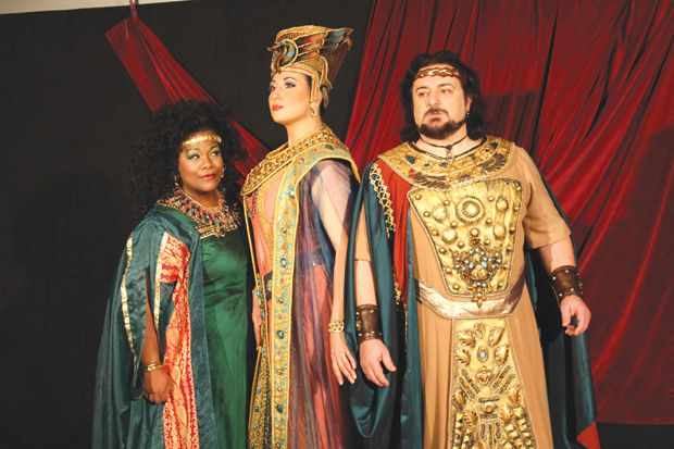 Aida finishes run at Winspear this weekend