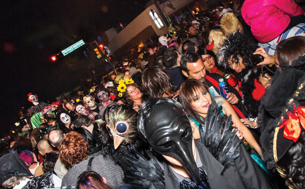 How big is the Halloween Street Party? So big it's downright scary