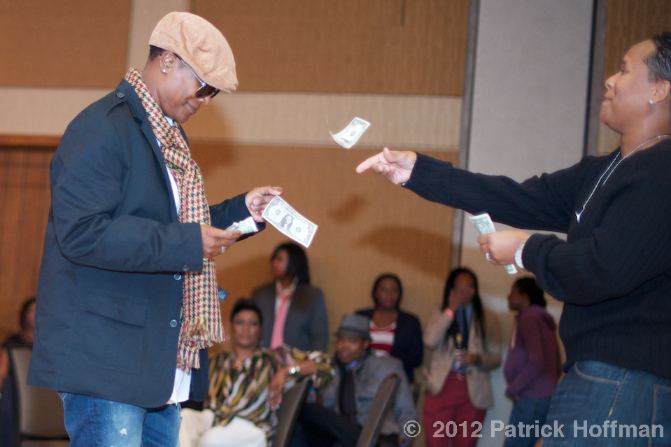 Fashion_Show_Woman_Making_It_Rain_Copyright_2012_Patrick_Hoffman_All_Rights_Reserved  990
