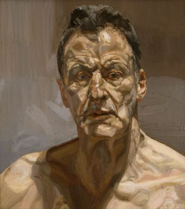 Last day to see the paintings of Lucien Freud at the Modern