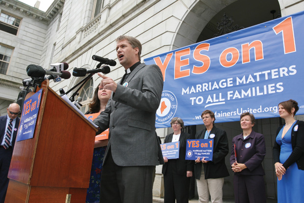 Polls suggest votes on marriage will be tight