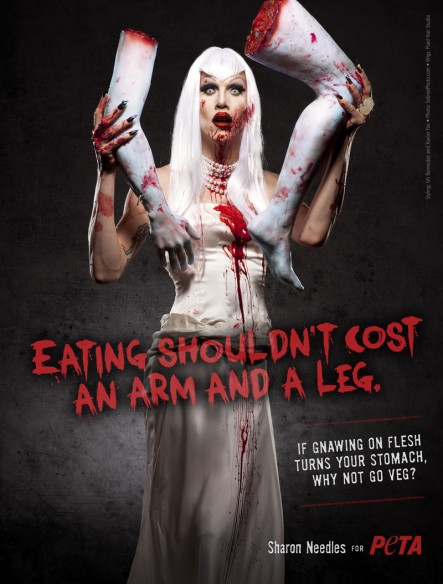 SEE: Sharon Needles' PETA PSA