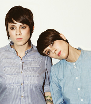 Lesbian duo Tegan and Sara perform at Annette Strauss Square