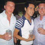Charles,Robert and Ben at ClubReflections.