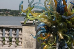 Catch the Chihuly exhibit at the Arboretum